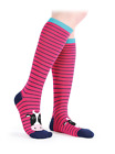 Shires Everyday Knee High Socks - Pink Cow