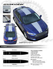 Ford Fusion 2013-2017 Center Racing Rally Stripes Graphics Kit 3M Stripes Decals