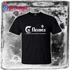 new IN FLAMES Swedish Heavy Metal band funny logo Mens Insomnium S to 4XLT