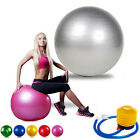 Anti Burst Yoga Swiss Ball 65cm Exercise GYM Fitness Pregnancy Birthing & PUMP