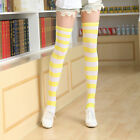 Hot Women Stripped Socks Thigh High Over The Knee Pantyhose Stockings Tights