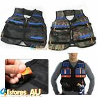 Adjustable Tactical Vest Jacket w/ Storage Pockets For Nerf N-Strike Elite Team