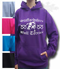 STAFFORDSHIRE BULL TERRIER STAFFY BULL dog HOODIE KIDS & ADULT SIZE
