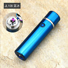 Electric Dual Arc Lighter Rechargeable USB Cigar Plasma Pipe Windproof Gifts New