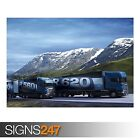 SCANIA TRUCKS (AC019) POSTER - Photo Picture Poster Print Art A0 A1 A2 A3 A4