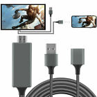 USB To HDMI Mirroring Cable Phone AV TV Digital Adapter For iPhone 11/12 Pro Max
