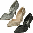 WHOLESALE Ladies High Heel Walsted Court Shoes / Sizes 3-8 / 14 Pairs / F9985