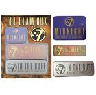 W7 Glam Box Choose Type In The Buff Midnight Eyeshadow Palette Cheeky Trio NEW