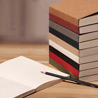Colorful JOURNAL Blank Sketchbook Inner 130 sheets White drawing Paper Notebook