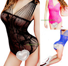 Внешний вид - Leotard Women Romper Shirt Top Sleeveless Stretch Blouse Jumpsuit Bodysuit Tank
