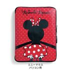 DISNEY Mickey Minnie Notebook PC Briefcase Case Laptop Pouch Cover Japan T3751