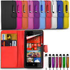 Huawei Honor Holly 3 - Card Slots Stand Wallet Flip Case & Mini Stylus