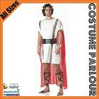 Mens Marc Antony Roman Gladiator Toga Mark Anthony Greek Costume All Sizes