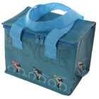Bicycle Design Cyclist Bike Insulated Lunch Box Cool Bag Boys Mens Picnic School