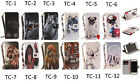 Pattern Case Flip Stand Magnetic PU Leather Card Wallet Case For iPhone 5 5S SE