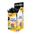 New Bic Cristal BLACK Biro Pen 1.0mm CHOOSE FROM MENU *UK SELLER* Free Postage!