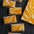 Creamsicle Fudge Buy 1 LB get 1/2 LB of our Classic Chocolate FREE!