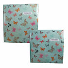 "Photo Album - Occasion - Green ""Butterflies"" Design - Choose Size"
