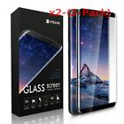 2x Premium Full Tempered Glass Screen Protector Film For Samsung Galaxy S8/S8+