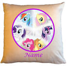 """Personalised Cushions 14"""" or 18"""" - My Little Pony - Named - Style 1"""