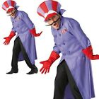 Adult Dick Dastardly Wacky Races cartoon tv dresisng up outfit costume mens male