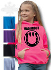 HORSE PONY RIDING HOODIE ALL Kid's Adults SIZE Equestrian MAD ABOUT SMILEY PONY