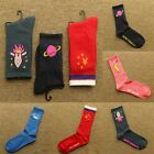 1 Pairs New Womens Sports Casual Cute Stocking Cotton Elastic Ankle High Socks