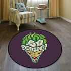 The Joker DC Square Cool Velboa Floor Rug Carpet Room Doormat Non-slip Mat #26