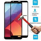 9H Full Cover Premium Tempered Glass Screen Protector Film Guard  For LG G6 2017