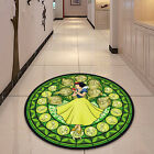 Kingdom Hearts Glass Circle Velboa Floor Rug Carpet Room Doormat Non-slip Mat #1