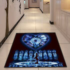 Kingdom Hearts Cute Square Velboa Floor Rug Carpet Room Doormat Non-slip Mat #14