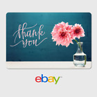 eBay Digital Gift Card - Thank You - Flower -  Fast Email Delivery <br/> US Only. May take 4 hours for verification to deliver.