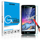 Clear Premium Tempered Glass Screen Protector Film for LG Aristo /K8 2017 /MS210