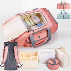 Large Water Resistant Baby Diaper Bag Backpack Changing Bag Travel/ 5 PCS Set