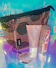 VICTORIA'S SECRET PINK COCONUT GLOW ISLAND WATERS LOTION SHIMMER MIST *HAIR TIE