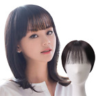 "5""x5""Women human hair topper toupee with bangs remy human hair Piece"