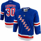 Henrik Lundqvist # 30 Reebok New York Rangers Replica NHL Youth Jersey