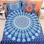 Floral/Mandala Duvet Covers Doona Quilt Cover Set Double Queen King Size Bed