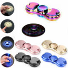 UK Fidget Spinner Colorful Metal Hand Spinner EDC Fingertip Gyro Anti Stress Toy