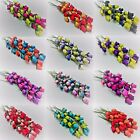 32 Mix Wooden Roses -  Choose colour mix required - Home Decor