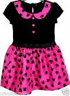 NEW**GIRLS**EX-CHAINSTORE**DISNEY**MINNIE MOUSE**LINED PARTY DRESS(9mths - 6yrs)