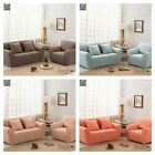 Stripe Stretch Protector Couch Cover Loveseat Lounge Sofa Chair 1/2/3 Seater New