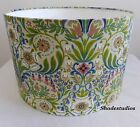 Hand Made Floral Garden Designed Drum Lampshade