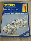 DATSUN CHERRY F-11 OWNERS WORKSHOP MANUAL 1988