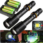 12000LM Police Tactical LED Flashlight CREE XML T6 5Modes 18650 Zoom Focus Torch