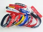 FOR Real Madrid Barcelona  Soccer football sport fans new Silica gel Bracelet 59