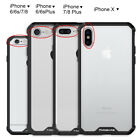 For iPhone X 8 7 iphone8 Plus Clear Case Cover Shockproof Protective TPU Bumper фото
