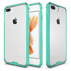 For iPhone X 8 7 iphone8 Plus Clear Case Cover Shockproof Protective TPU Bumper