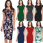 New Fashion Women Bodycon Cocktail Ladies Evening Party Formal Mini Pencil Dress