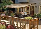 SunSetter Motorized Retractable Awning, 16x10 ft. Outdoor Deck & Patio Awnings